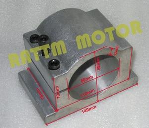 Image 5 - EU free VAT 2.2KW Air cooled spindle motor ER20 & 2.2kw VFD Inverter 220V & 80mm Clamp & 1set  ER20 collet 14pcs for CNC Router