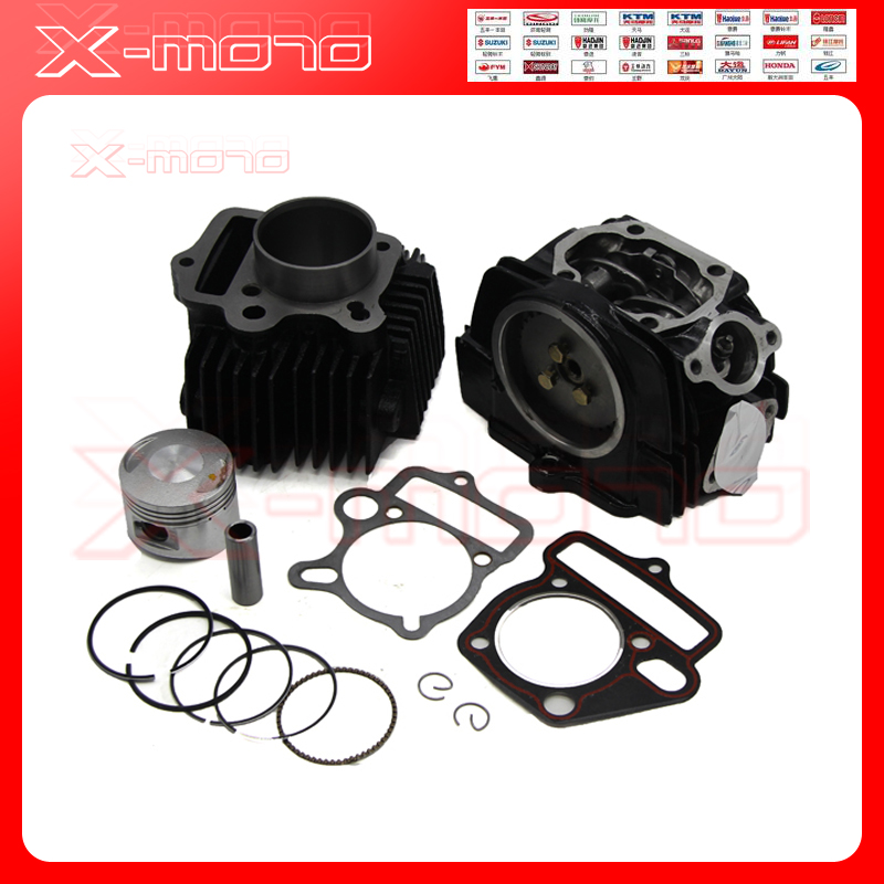 LIFAN 125 125CC CYLINDER HEAD body PISTON GASKET KIT TOP END ENGINE ...