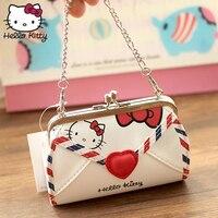 6570204d12209 Cartoon Hello Kitty Bowknot Girls Handbag My Melody PU Leather Women Soft  Coin Bag Girls Kids