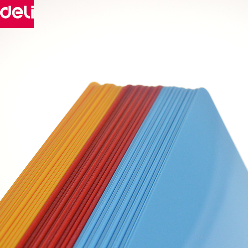 Deli Stationery Writing Accessories 10pcs A5 Size Writing Pad Writing Clipboard Cutting Mat Office School Supplies