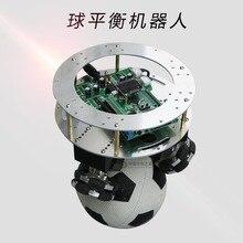 Два развития шариковой сбалансированной сферической самобалансировки автомобиля поддержка для балансировки мяча робота