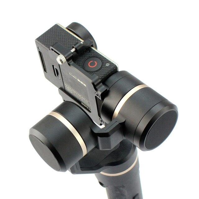 Feiyu  G5 Handheld Gimbal GoPro for HERO5 5 4 Xiaomi yi 4k SJ AEE Action Cams of varies weigh Splashproof  Humanized