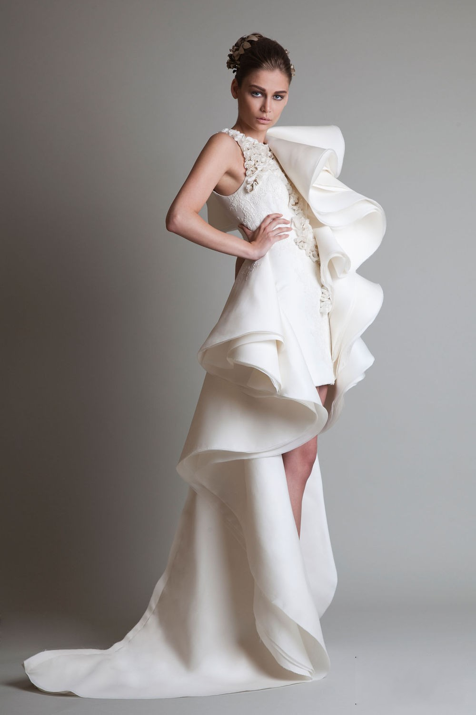 Платье krikor jabotian