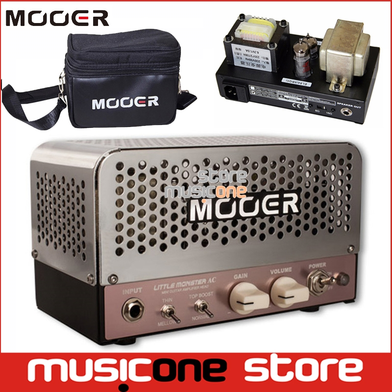 mooer audio effects guitar amplifier little monster ac 5w micro tube compact guitar amp. Black Bedroom Furniture Sets. Home Design Ideas