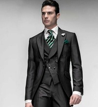 New Mens Wedding Suits Groomman Bridegroom Tuxedos Business Party