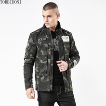 ФОТО autumn air force bomber jacket men new spring fashion patchwork outwear jacket men camouflage military coat jacket jaqueta parka