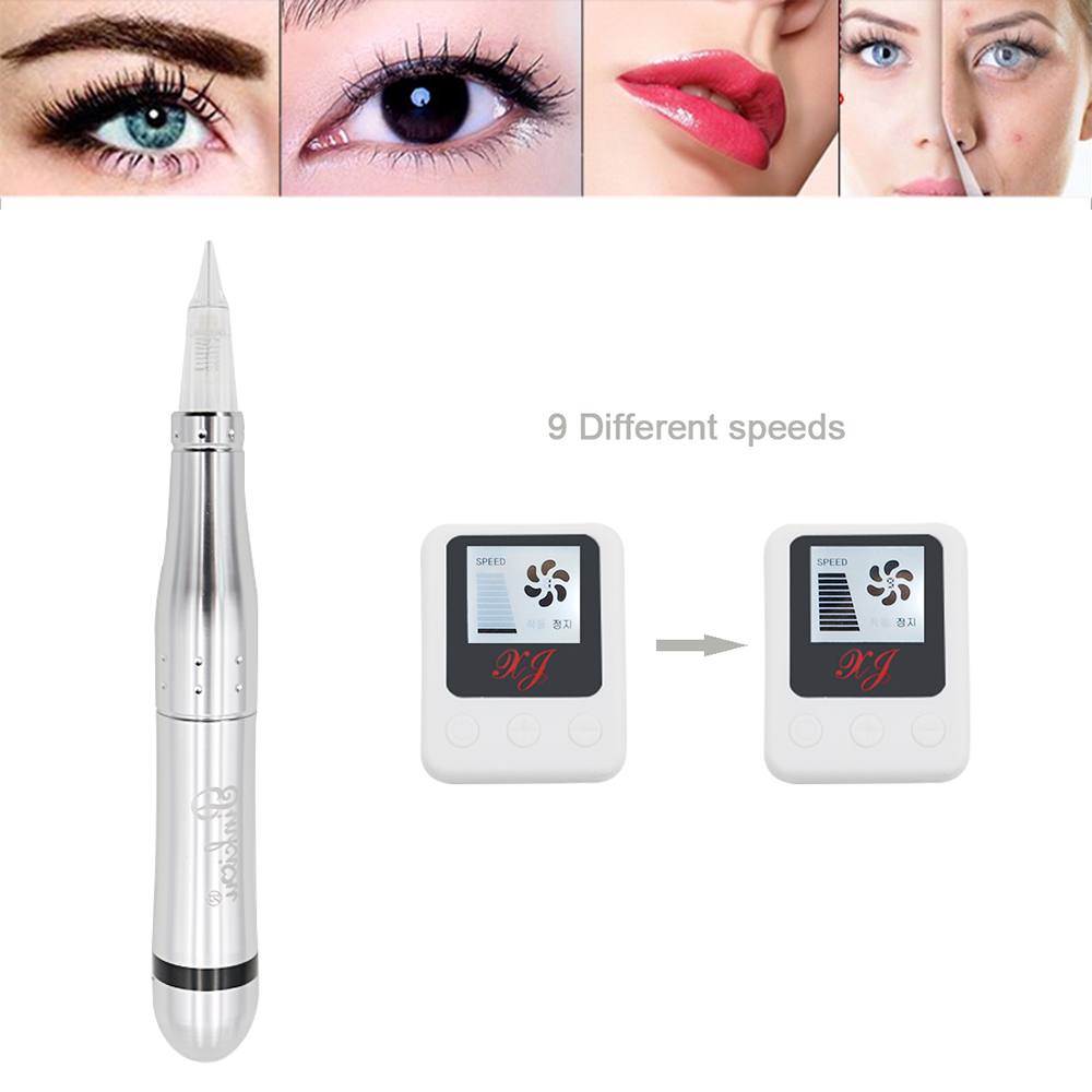 Mini Charmant Tattoo Machine Pen For Permanent Makeup Eyebrows Lip Tattoo Line Microblading Mricroneedle Therapy Forever Make Up цена 2017