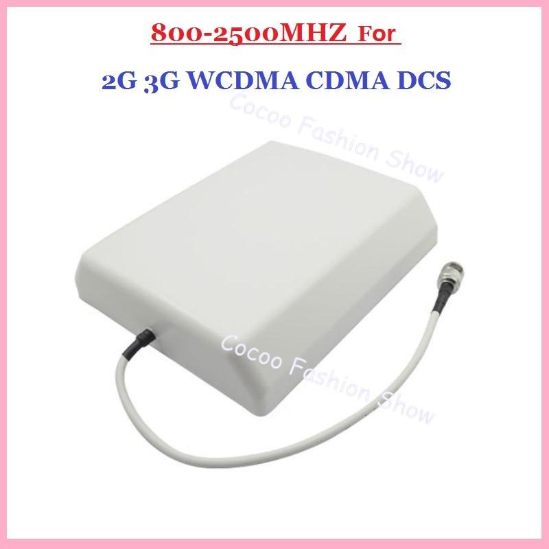 Freies Verschiffen 2G/3G CDMA/GSM/DCS/AWS/WCDMA 8dBi handy handy signal innenwandplatte antenne