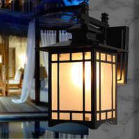 Светильники для крыльца road wall водонепроницаемые лампы сад Терраса Балкон бра Континентальный вилла Наружное освещение нет рядом с E27 лампа