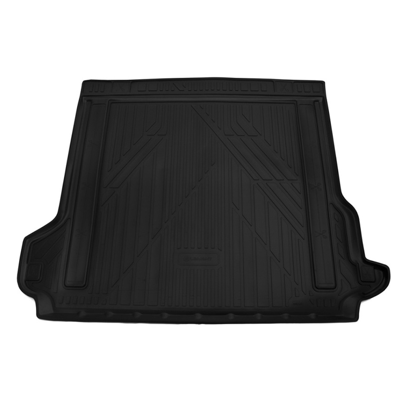 Mat trunk For TOYOTA LC150 Prado, 2017-> 5 seats, внед, 1 PCs (polyurethane) mat trunk fit for for volkswagen touareg 2018 внед 1 pcs polyurethane