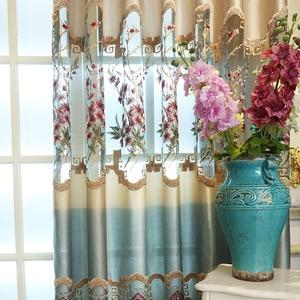 Image 3 - สำหรับผ้าม่านห้องนั่งเล่นผ้าม่านหน้าต่างโมเดิร์นห้องนอน Hollowed   out ใหม่ elegant จีน