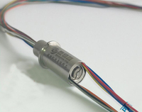 Mini Slip Ring Full Metal 10mm Out Dia Connector Sliprings Precision Stainless Steel Electric Collector Slip