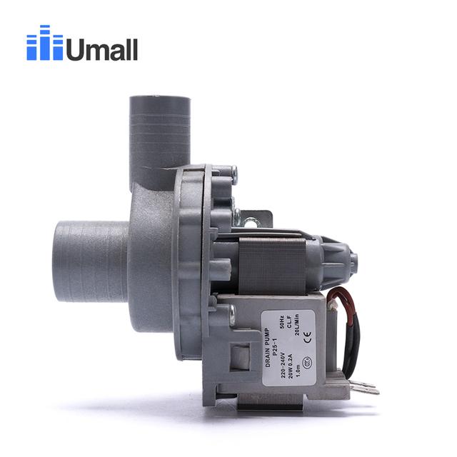 general electric washing machine drain pump motor 220v caliber 32/24mm full copper washer machine repair spare part