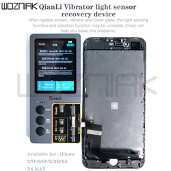 QianLi iCopy programming transferring data on for iPhone parts icluding LCD Touch Vibrating Motor and Baseband