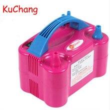 Bomba eléctrica inflable de doble orificio de alta tensión, bomba de aire para globos, soplador de aire portátil de 110V o 220V