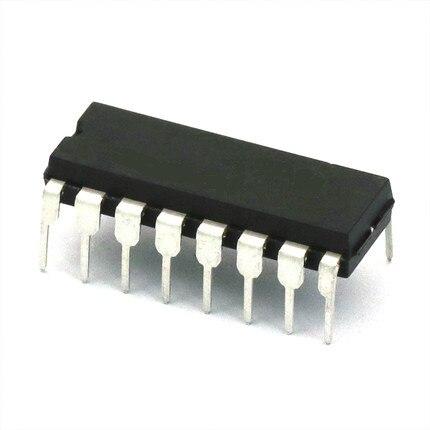 20 pcs/lot Asli baru negara Pengiriman gratis SN74HC595N 74HC595 8 Bit Shift Register DIP-16 IC...