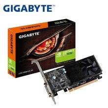 Полностью новая Gigabyte GT1030 2G полувысокая видеокарта HTPC нож карта LP версия настольный компьютер игра мини Шасси только