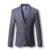 2016 Hombres Chaquetas de Traje Blazers Trajes Vestido de Moda Casual Estilo de Gran Tamaño de Los Hombres Blazers Slim Fit Solo Botón y chaquetas
