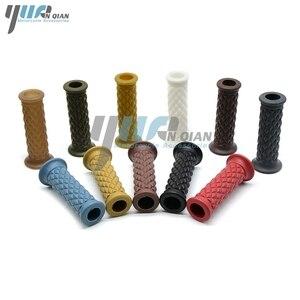 """Image 4 - YUANQIAN 7/8"""" 22mm Motor Rubber Handlebar Hand Grips For honda CBR1000RR Cbr 600  PCX125 150 250 MSX 125 200 400 MSX125 HORNET"""