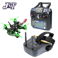 JMT Mantis85 85mm 6CH 2.4G RC FPV Micro Racing Drone Quadcopter RTF 600TVL Camera VTX & Double Antenna 5.8G 40ch Video Goggles