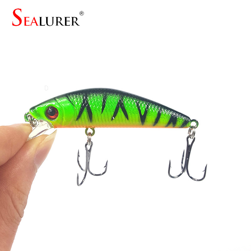 1Pcs 7cm 8.5g fishing lure iscas artificiais para pesca 6# Hooks Minnow fishing wobber crankbait swimbait fishing tackle WQ9