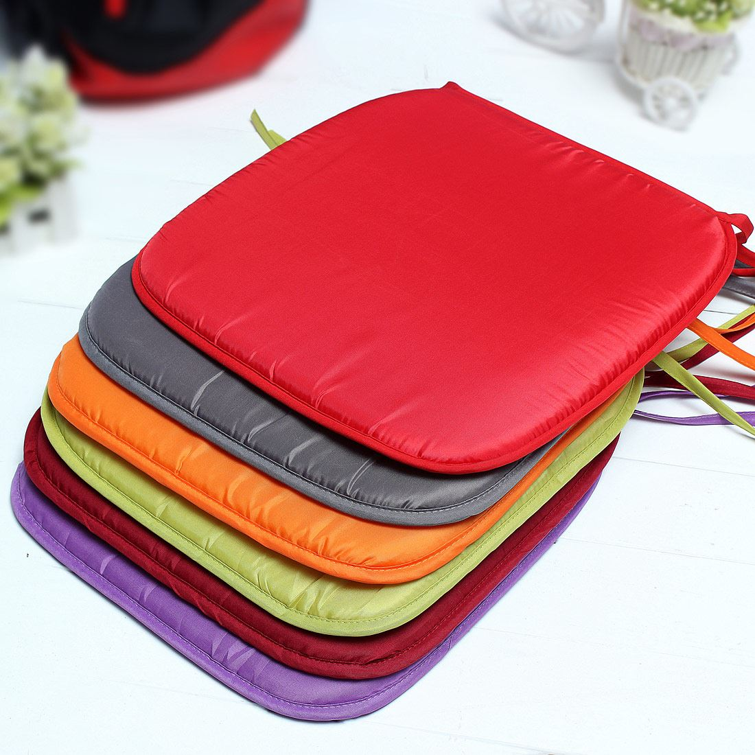 new soft comfort sit seat mat lumbar pillow office chair car seat cushion bolster buttocks