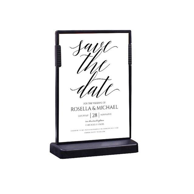 210*148 A5 label frame stand T sign poster frame label holder price ...