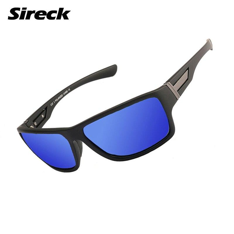 Мужские и женские поляризационные очки Sireck, уличные спортивные солнцезащитные очки UV400 для альпинизма, велоспорта, рыбалки, 2018