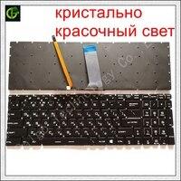 רוסית RGB תאורה אחורית מקלדת עבור MSI GT62 GT72 GE62 GE72 GS60 GS70 GL62 GL72 GP62 GP72 CX62 GS63VR GS73VR GT72VR GT83VR GE62V RU-במקלדות חלופיות מתוך מחשב ומשרד באתר