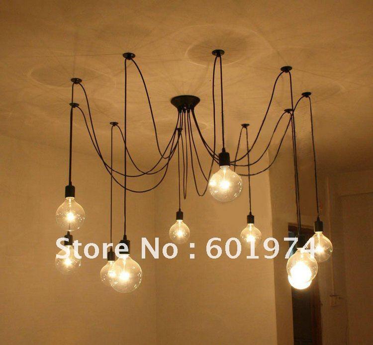 Free Shipping Edison Chandelier Light Bulb Modern Chandeliers