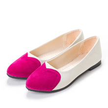 Fashion Heart Female Women Casual Shoes female shoes Platform shoes Loafers Ballet Flat Shoes Zapatos Mujer