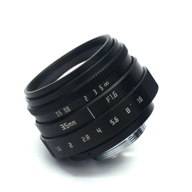 NEW Fujian 35mm F1.6 CCTV TV II Movie lens + C Mount for Canon EOS M  Mirrorless camera 10
