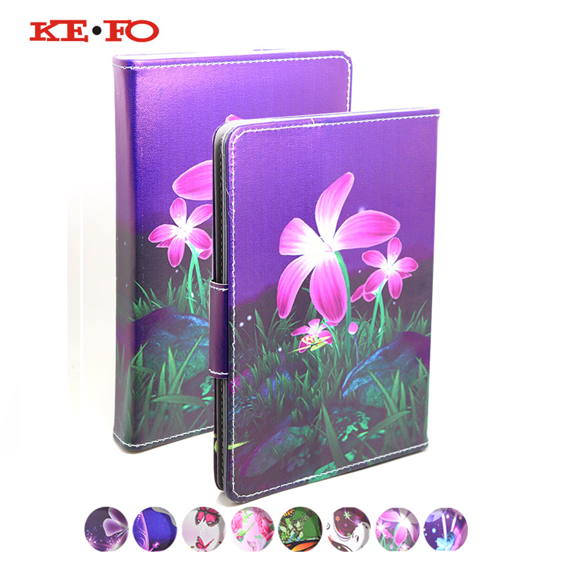KeFo Cover Case For Lenovo Tab 3 TAB3 7 Plus 7703 7703x TB-7703X TB-7703F Printed Stand Flip Leather Universal Child 7 inch slim fit stand feature folio flip pu hybrid print case for lenovo tab 3 730f 730m 730x 7 inch