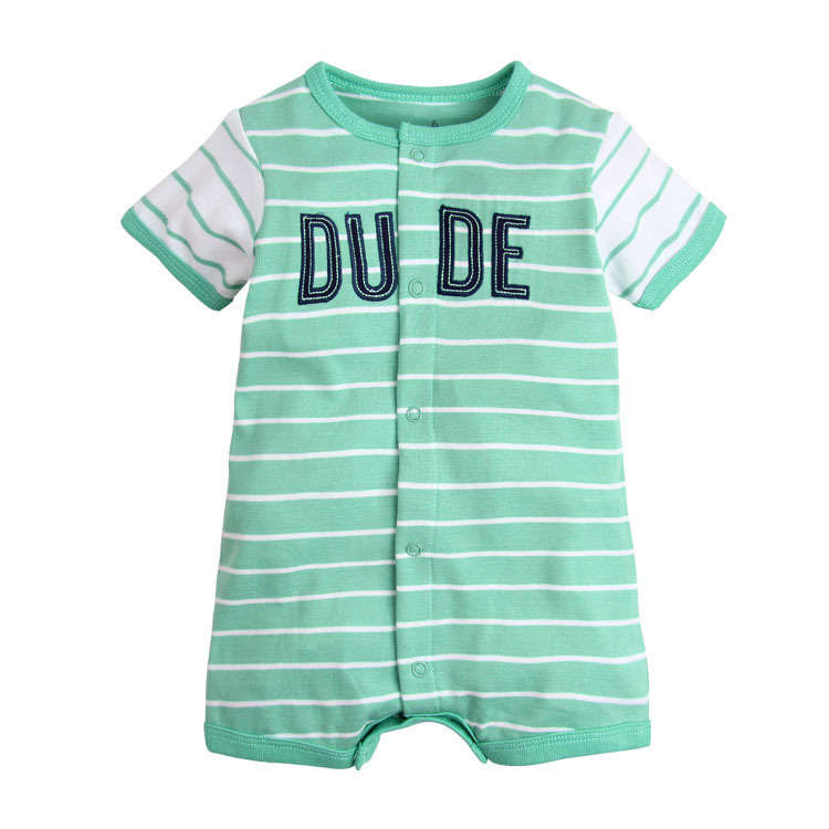 2018 Baby Clothes Summer Jumpsuit Cartoon Cotton For Newborn Baby Girls Dress Infant Fashion Clothes Lovely Bebes Boy Clothes 50% OFF