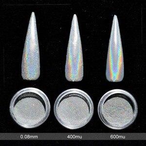 Image 2 - 0.2g Holographic Nail Polvere Unicorno glitter per unghie Olografico Polvere Arcobaleno Olografico del Bicromato di potassio Del Chiodo della Polvere Nails Art SF2014