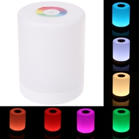 LED Touch Control Night Light Induction Dimmer Smart Bedside Lamp Dimmable RGB