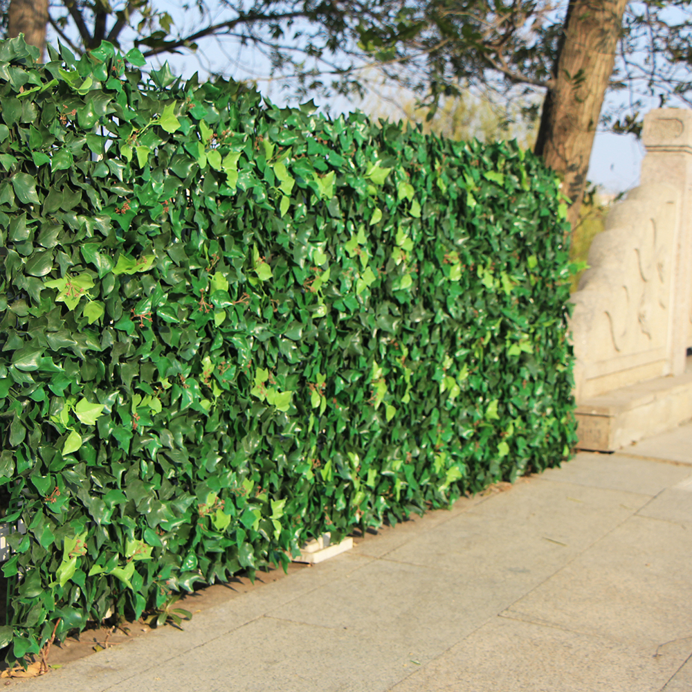 Artificial Hedge Leaves Plants Fake Ivy Wall 10
