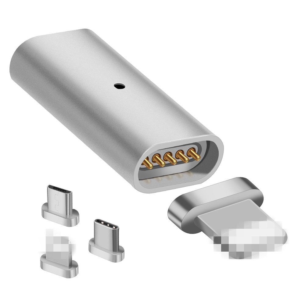 Prolieo Magnet Adapter Mirco USB Connector Micro USB Type-C Type C for iPhone USB Charger Cable Magnetic Mobile Phone Adapters
