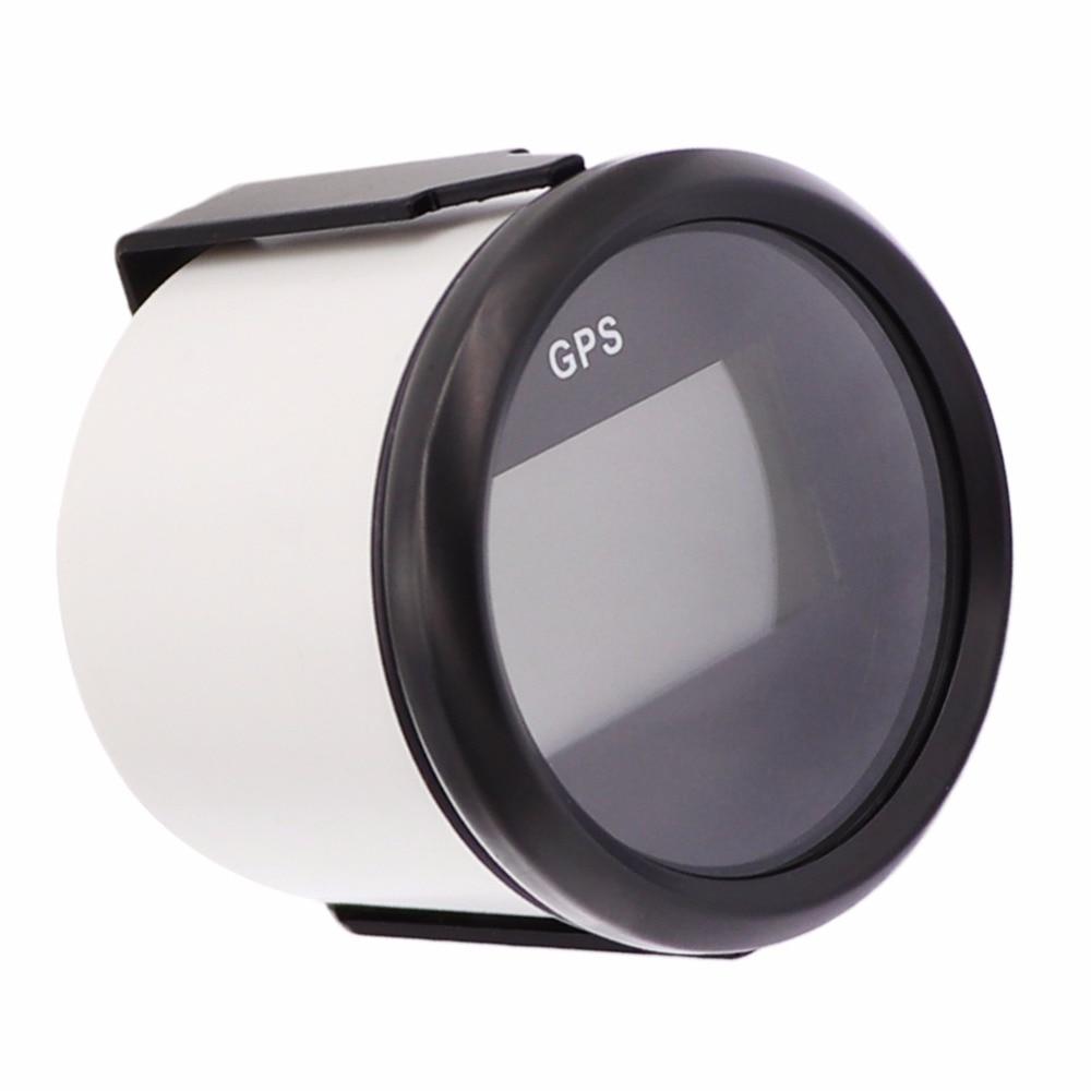 52mm Digital Gps Marine Speedometer 0999 Mph Lcd Speed Gauge Speedometers Sensor Vdo 810 00175 12 2