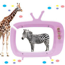 TV Box Piggy bank pot Pocket Toys Model Creative Baby Kids R