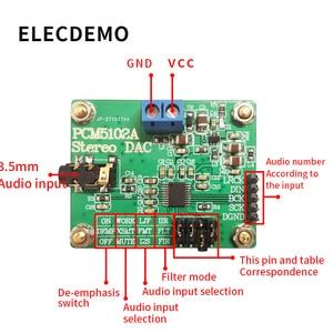 Image 2 - PCM5102A Modul Digitale Audio I2S IIS Stereo DCA Decoder Board Modul Digital Analog Konverter Audio board