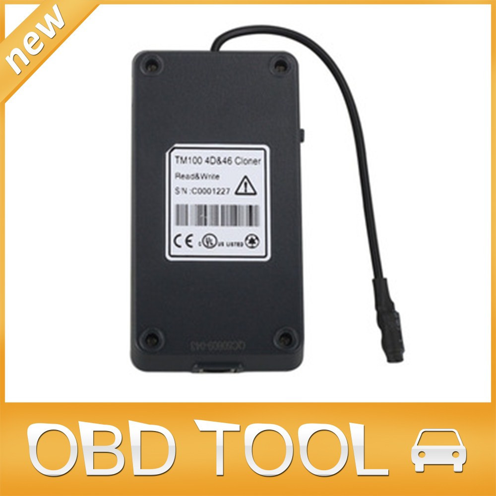 Promotion Price!! TM100 4D and ID46 Clone Machine Work With TM100 Transponder Key Programmer with Free Shipping