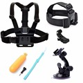 For SJCAM Accessories Chest Head Strap Floaty Bobber Mount for Xiaomi Yi Gopro Hero 4 3+ SJCAM sj4000 SJ4000 WIFI SJ9000