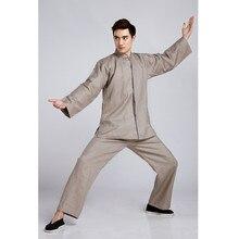 Новый Приход Китайских мужская Классический Tai Chi Равномерной Хлопок Белье кунг-фу Костюм Одежда Размер Ml XL XXL XXXL 2516