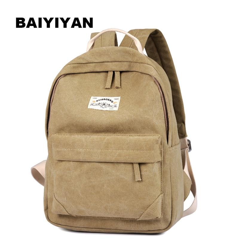 빈티지 캐주얼 여성 일일 배낭 캔버스 가방 학생 schoolbag 복고풍 지퍼 가방 여행 배낭 가방