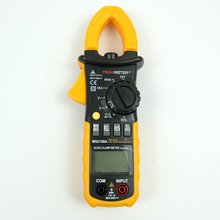 цена на MS2108A Digital AC/DC 400A Clamp Meter 4000 Counts Capacitance frequency Resistance Earth Tester Multimeter