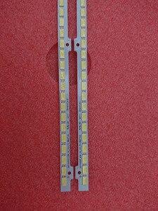 Image 4 - 2 قطعة (1 * اليسار + 1 * الحق) UA55D6600WJ LTJ550HW01 LTJ550HW03 H LTJ550HW04 H LED الخلفية شريط BN64 01664A 2011SVS55 100 المصابيح 680 مللي متر