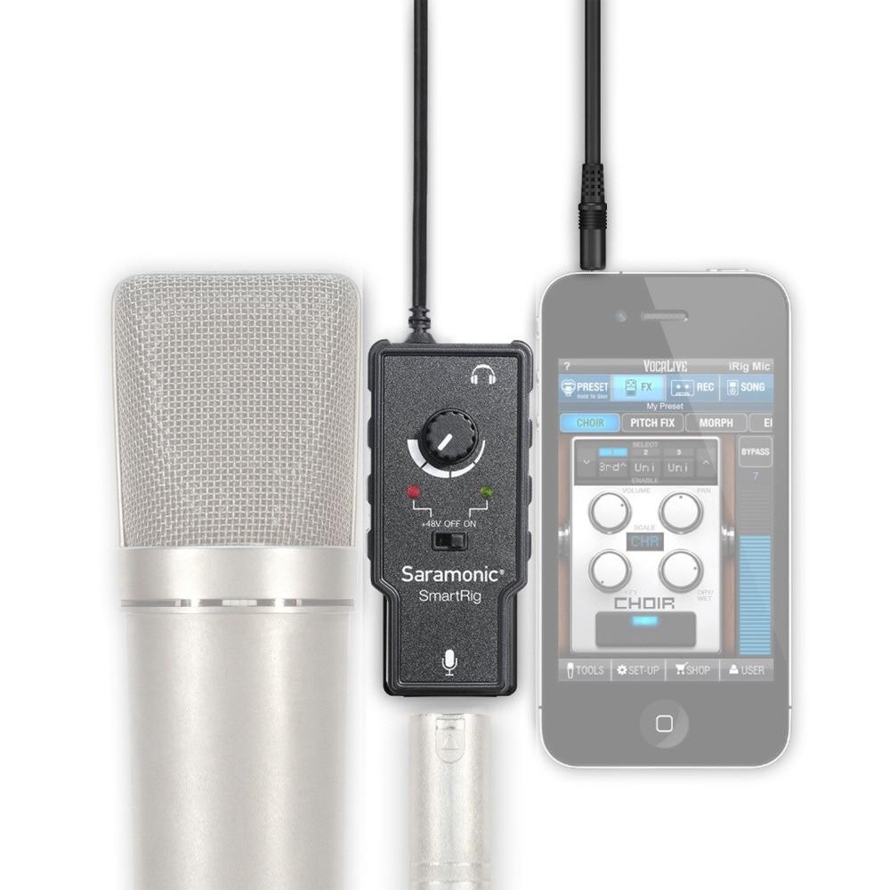 Saramonic XLR Karaoke Micrófono Preamplificador Adaptador de audio - Audio y video portátil - foto 3