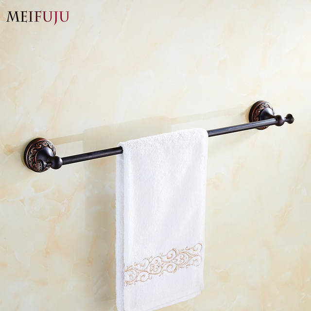 Luxury Bathroom Accessories Single Towel Bars Hotel Towel rack ...