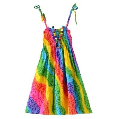 Summer-Bohemian-Style-Girls-Dress-Floral-Shoulderless-Beading-Necklace-Sundress-For-Girls-Beach-Dress-Clothes-Vestido-Infantil-5